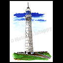 """PHARE"" - Encres © Natacha Latappy - Reproduction interdite"